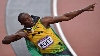 Fakta: Usain Bolts sejrsposition