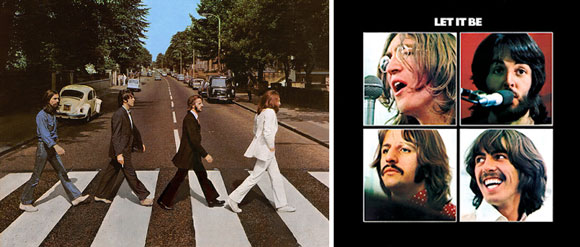 Fakta: De två sista albumen från the Beatles var Abbey Road och Let It Be